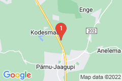 Google Map of Lomamökki - Kodesmaa Pärnumaa
