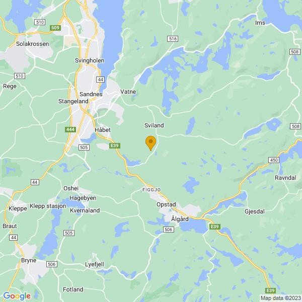 Google Map of 58.8130817,5.814342300000021