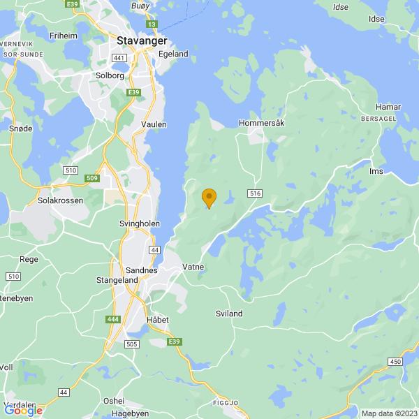 Google Map of 58.884067317759424,5.799099014832594