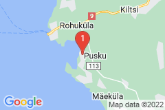 Google Map of Lomamökki - Pusku