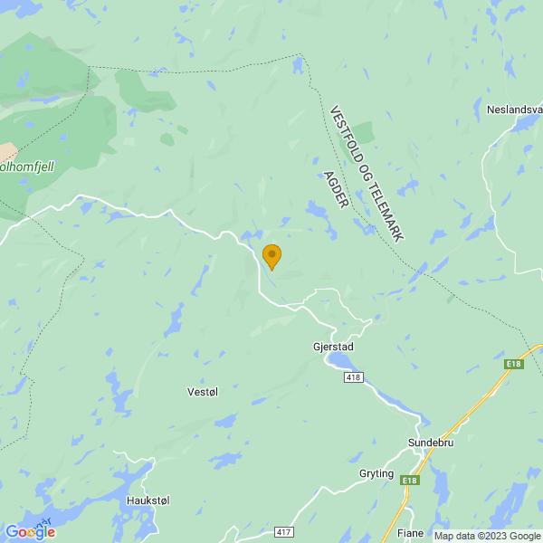 Google Map of 58.9079649,8.9725922