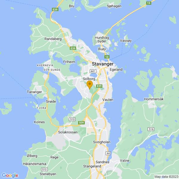 Google Map of 58.93924899999999,5.7027055