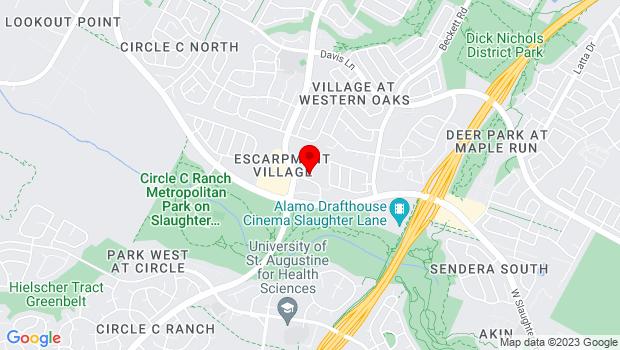 Google Map of 5800 West Slaughter Lane, Austin, TX 78749