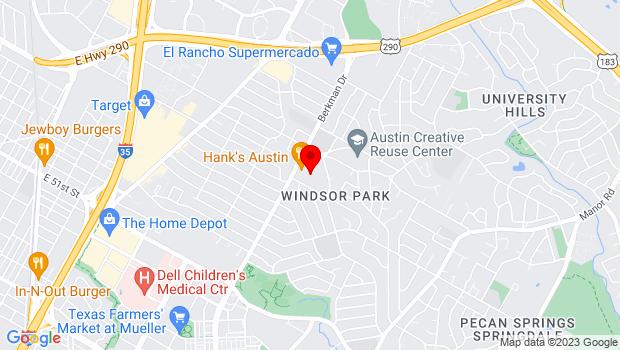 Google Map of 5811 Berkman Dr. Suite 132, Austin, TX 78723