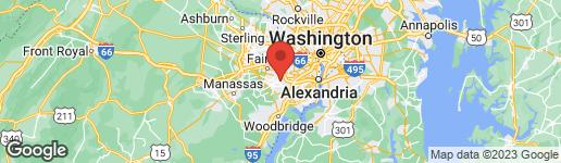 Map of 5820 ROYAL RIDGE DRIVE K SPRINGFIELD, VA 22152