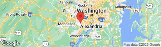 Map of 5821 REXFORD DRIVE C SPRINGFIELD, VA 22152