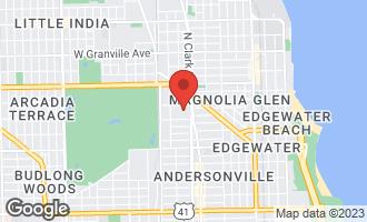 Map of 5827 North Paulina Street 3E CHICAGO, IL 60660