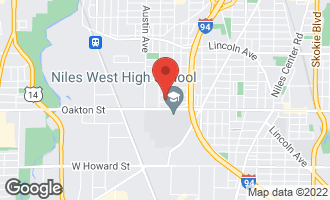 Map of 5828 Warren Street MORTON GROVE, IL 60053