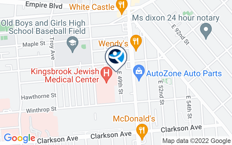 Kingsbrook Jewish Mental Health Location and Directions