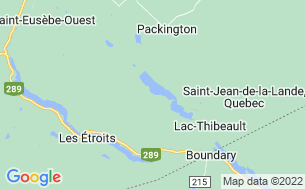 Map of Camping Municipal Packington