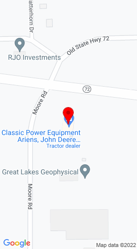 Google Map of Classic Motor Sports & Lawn Equipment, Inc. 5858 Moore Road, Williamsburg, MI, 49690