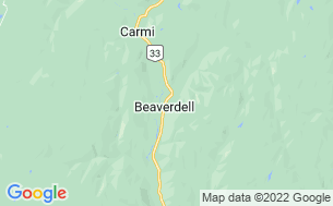 Map of Beaverdell RV Park