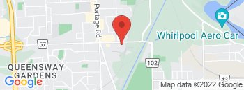 Google Map of 5888+Thorold+Stone+Rd%2CNiagara+Falls%2COntario+L2J+1A1