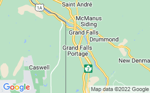 Map of Rapid Brook Camping