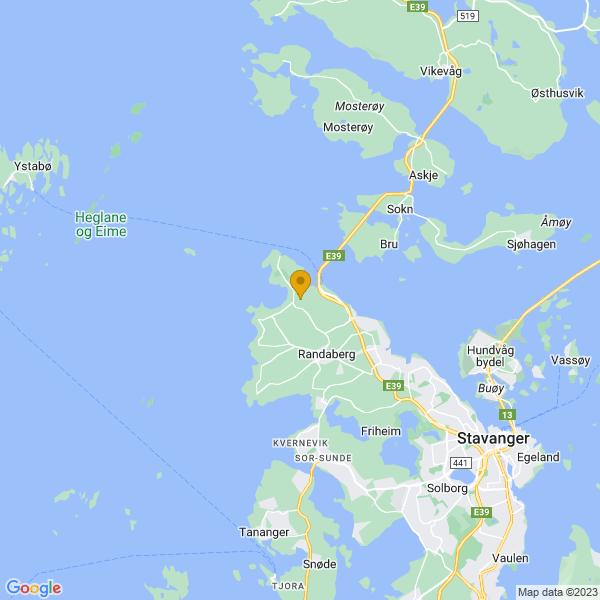 Google Map of 59.0185263,5.600508600000012