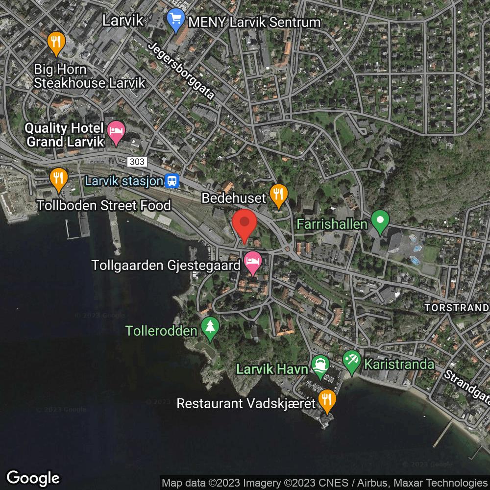 Indre havn/Tollerodden