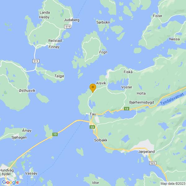 Google Map of 59.0890547,5.9227902000000086