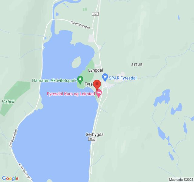 Kart over Moland kyrkje