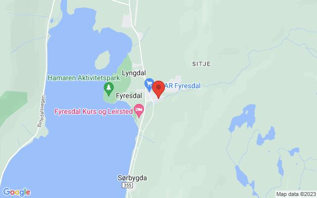 Kart over Betel