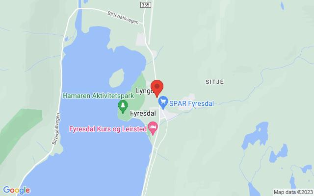 Kart over Meinstad