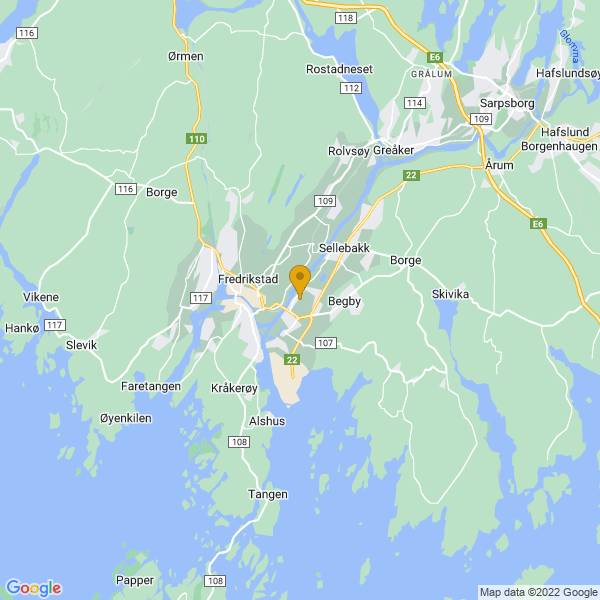 Google Map of 59.2132011,10.970335