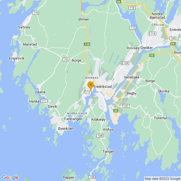 Google Map of 59.21596619999999,10.9074808