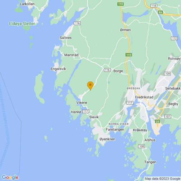 Google Map of 59.22818210000001,10.8125956