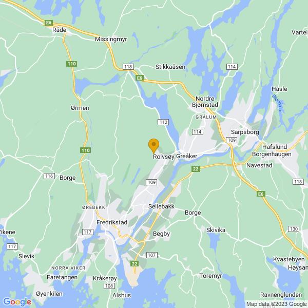 Google Map of 59.2673994,10.9910595