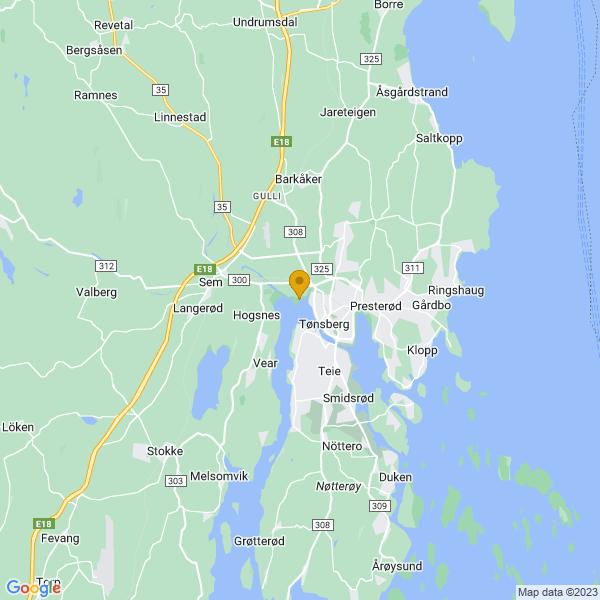 Google Map of 59.2762018,10.390954800000031