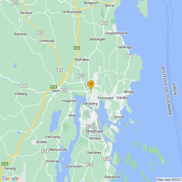 Google Map of 59.28190439999999,10.4104143