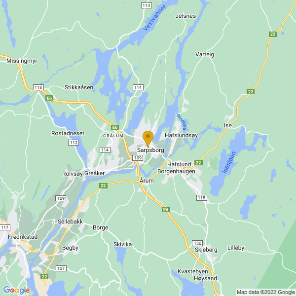 Google Map of 59.2838595,11.1095613
