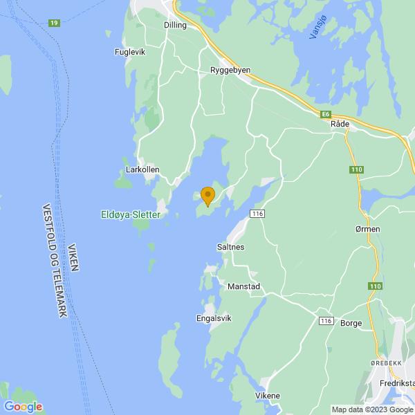 Google Map of 59.3098419,10.7330518