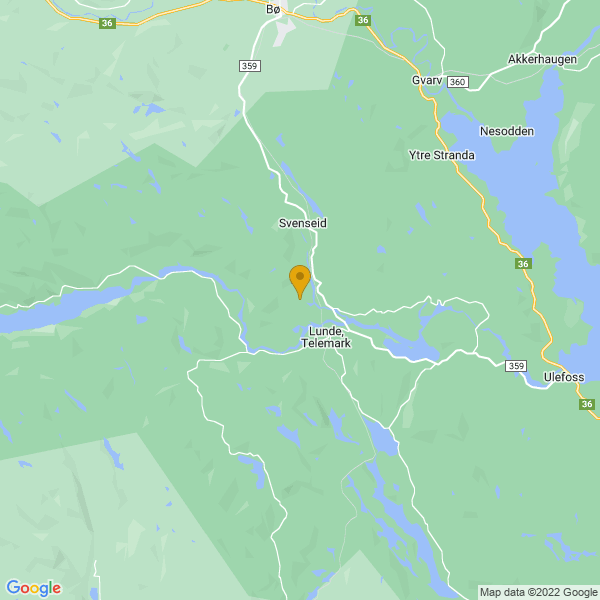 Google Map of 59.3108095,9.08276879999994