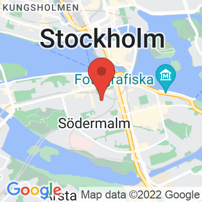 Map showing Johan & Nyström (Swedenborgsgatan)