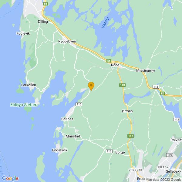Google Map of 59.32199276018637,10.810106371647205