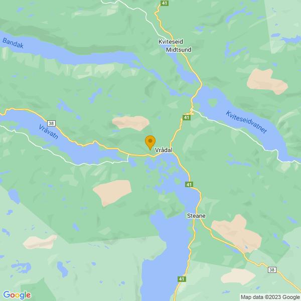 Google Map of 59.326335309385215,8.464023823940273