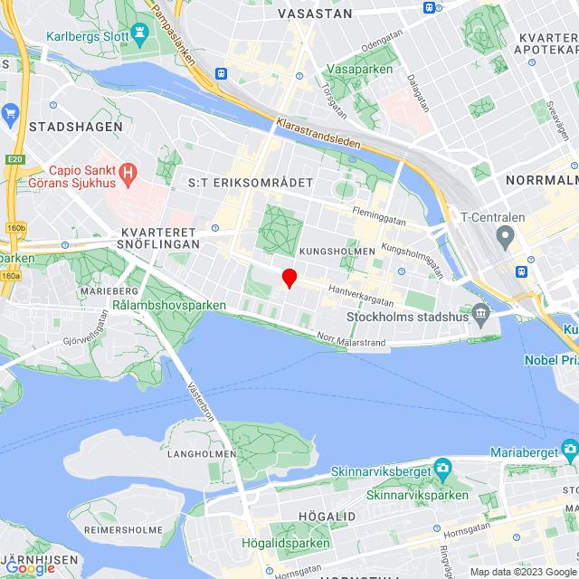 Röda Korset Second hand Stockholm