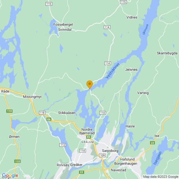 Google Map of 59.354234,11.065297699999974