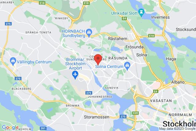 Sundbybergs Hälsocenter Map