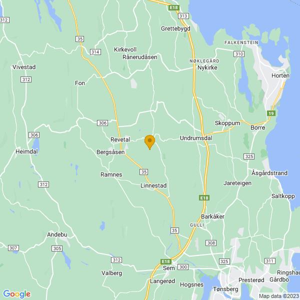 Google Map of 59.364988,10.3037633
