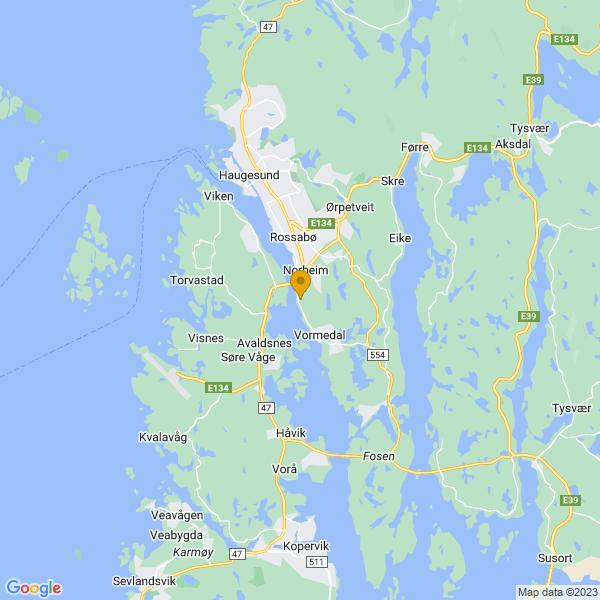 Google Map of 59.3700278,5.3030574