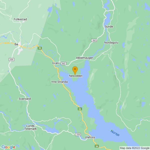 Google Map of 59.37093539999999,9.2229337
