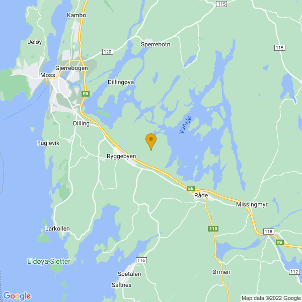 Google Map of 59.38275381207438,10.796263914785728