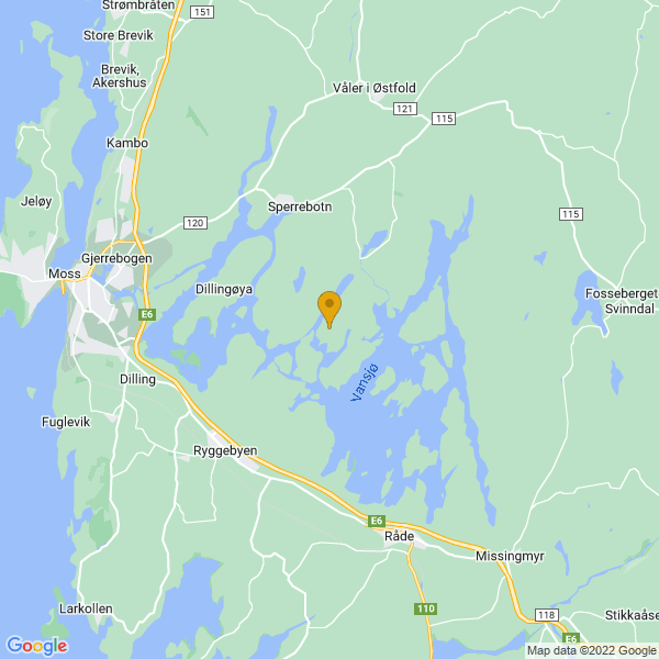 Google Map of 59.4177224,10.8207769