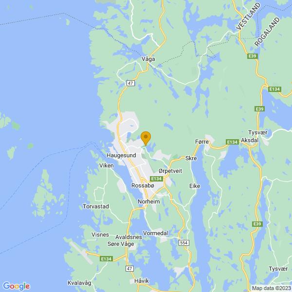 Google Map of 59.420195006237115,5.302619934082031