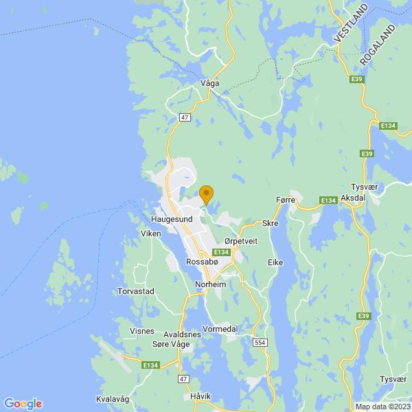 Google Map of 59.420324193101706,5.302491195560188