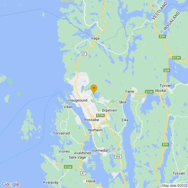 Google Map of 59.42075770608277,5.303446257167028