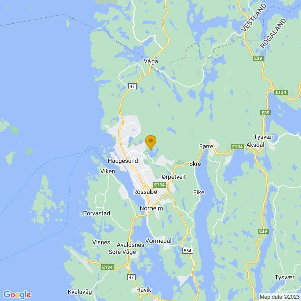 Google Map of 59.42080121456351,5.306017081799843