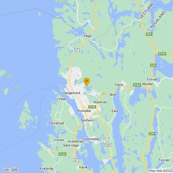 Google Map of 59.42138555850642,5.30454332599537
