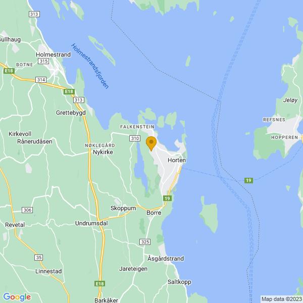 Google Map of 59.4229084,10.448639500000013